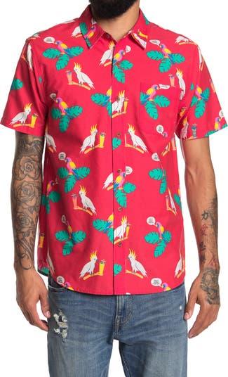 Рубашка с коротким рукавом Polly Wanna Cocktail PARTY PANTS
