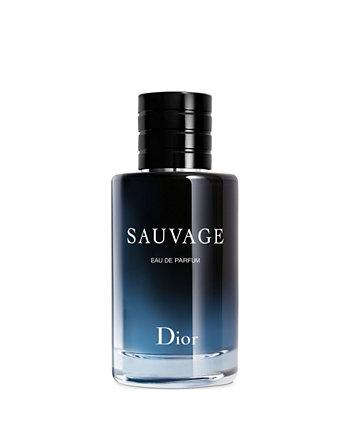 Мужской спрей Sauvage Eau de Parfum, 2 унции. Dior
