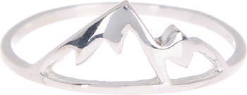 Горное кольцо из стерлингового серебра Sierra Pura Vida