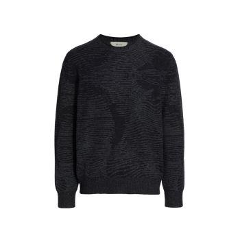 Кашемировый свитер с круглым вырезом Z Zegna
