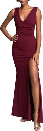 Платье из крепа Agathe с запахом на талии Dress the Population