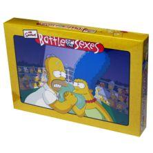 Battle of the Sexes® - настольная игра The Simpsons ™ Edition от University Games University Games