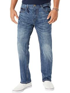 Адаптивные классические прямые джинсы с магнитными застежками в цвете Belmore Seven7