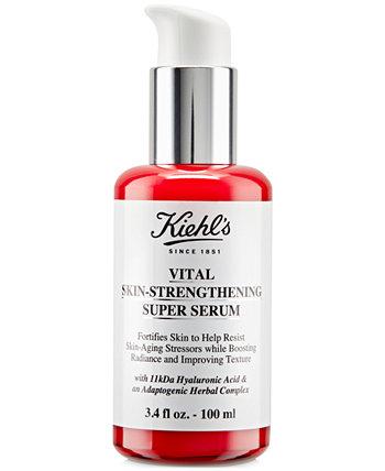 Vital Укрепляющая кожу сыворотка с гиалуроновой кислотой, 3,4 унции. Kiehl's Since 1851