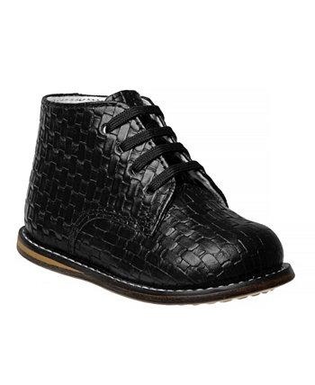 Тканая прогулочная обувь для маленьких мальчиков и девочек Josmo