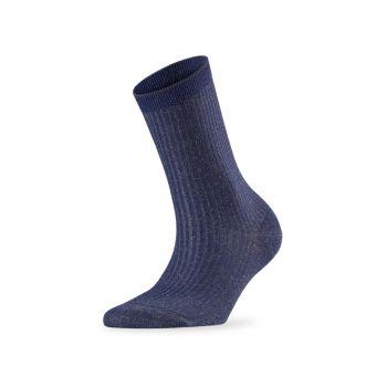 Блестящие носки в рубчик Falke