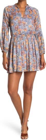 Расклешенное мини-платье Andra NSR