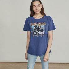 Women's Elizabeth and James Pink Floyd Cool Graphic Tee Elizabeth and James