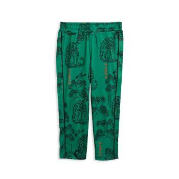 Спортивные брюки для маленьких девочек и девочек с тигровым принтом Mini rodini