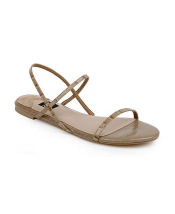 Женские сандалии Sharon на плоской подошве Zac Posen