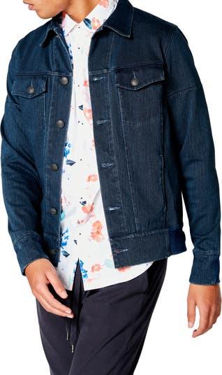 Джинсовая куртка приталенного кроя из твила Good Man Brand