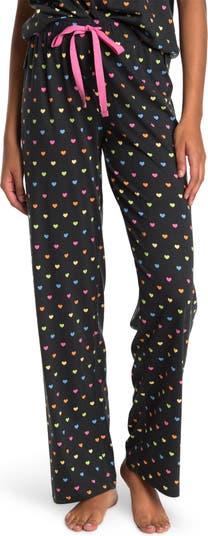 Пижамные штаны с принтом в виде сердечек PJ SALVAGE