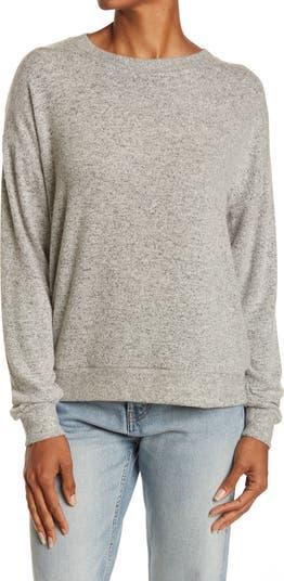 Уютный пуловер с круглым вырезом Free Press