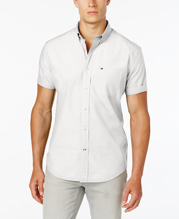 Мужская рубашка с коротким рукавом Maxwell на пуговицах Big & Tall Tommy Hilfiger