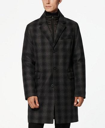 Мужское шерстяное топпер-пальто Riegel Marc New York by Andrew Marc