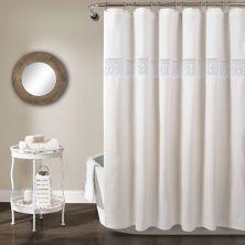 Lush Decor Dana Lace Shower Curtain Lush Décor