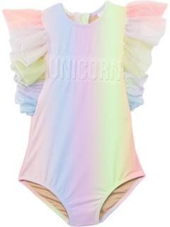 Сплошной комбинезон с рукавами из тюля Unicorn Sherbert Rainbow (Младенцы / Малыши) Shade critters