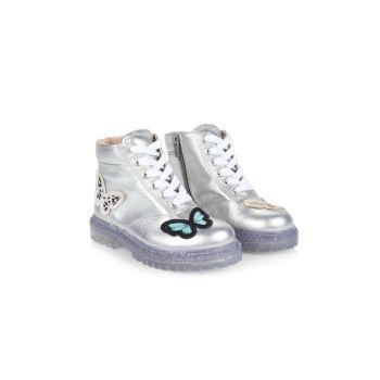 Ботинки на шнуровке Tia Butterfly для маленьких девочек и девочек Sophia Webster