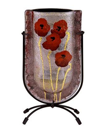 9-дюймовая мини-ваза U Jasmine Art Glass