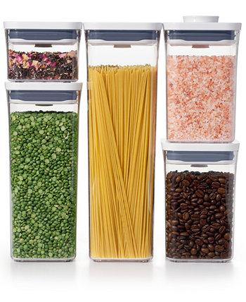 Pop 5-Pc. Набор контейнеров для хранения пищевых продуктов Oxo