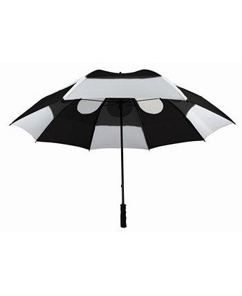 Ветрозащитный зонт для гольфа с двойным навесом GUSTBUSTER
