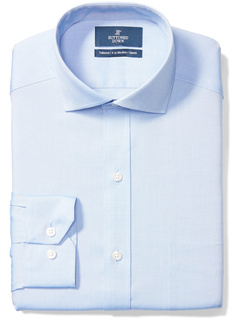 Классическая рубашка с вырезом воротником и однотонным карманом без железа с карманами Buttoned Down