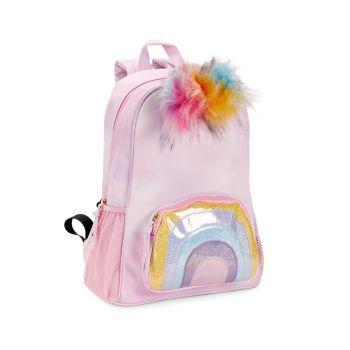 Детский рюкзак Katie с помпонами из искусственного меха Under One Sky