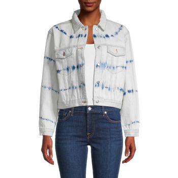 Укороченная джинсовая куртка 525 America