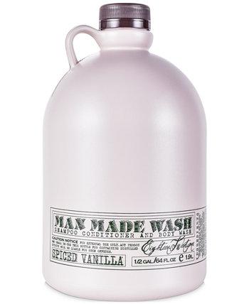 Wash - NEW Spiced Vanilla, 64 унции 18.21 Man Made