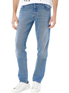 Just Slim Fit Pant with Ripped Detailing Just Cavalli