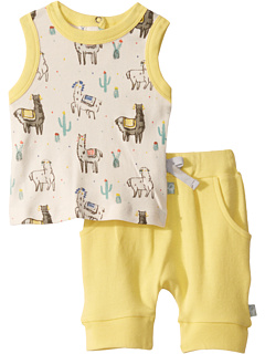Набор майки Llama Tank (младенец / малыш) Finn + emma