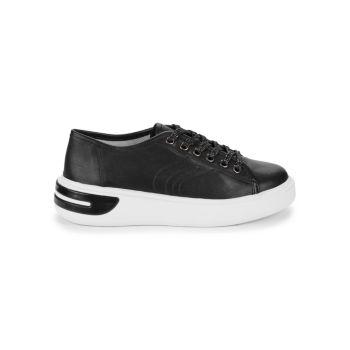 Кожаные кроссовки Ottaya Geox