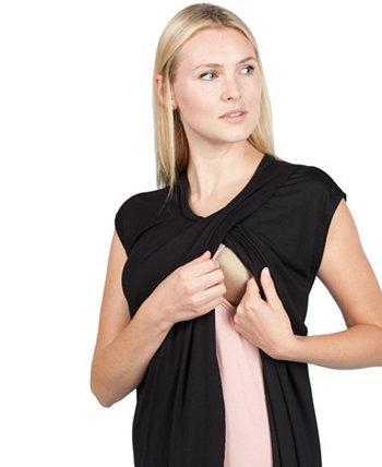 Платье / туника Kenzie Lounge для беременных и кормящих Savi Mom
