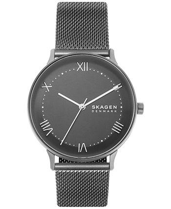Мужские часы с ремешком из нержавеющей стали Nillson Gunmetal 40мм Skagen