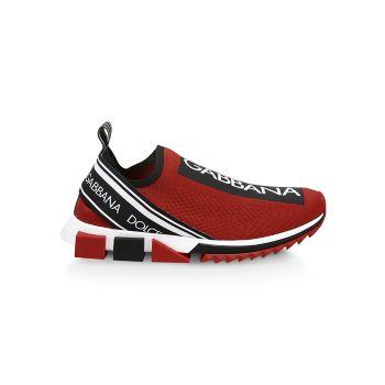 Кроссовки Sorrento Bassa Maglina Tech Knit Dolce & Gabbana