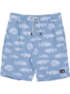 Эластичные шорты Horton Fish (Big Kids) RVCA Kids