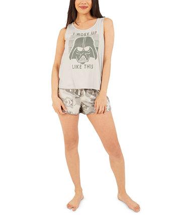 Star Wars Darth Vader Pajama Shorts Set Munki Munki