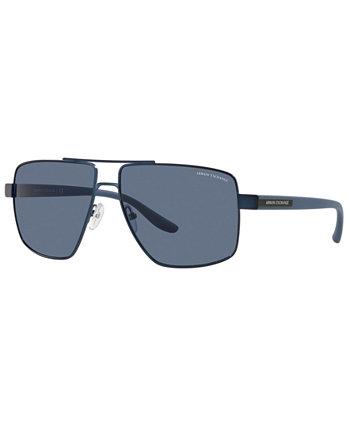 Солнцезащитные очки Armani Exchange, AX2037S 60 Armani Exchange