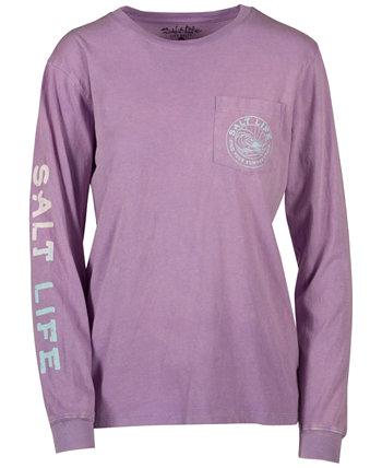 Женская летняя хлопковая футболка Stoke Fade Salt Life