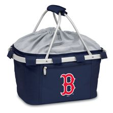 Picnic Time Boston Red Sox Insulated Picnic Basket Picnic Time