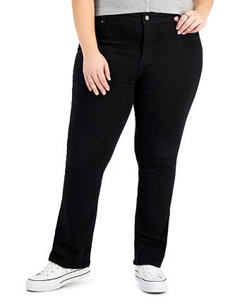 Модные узкие джинсы Bootcut больших размеров Tinseltown