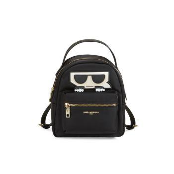 Нейлоновый рюкзак Amour Karl Lagerfeld Paris