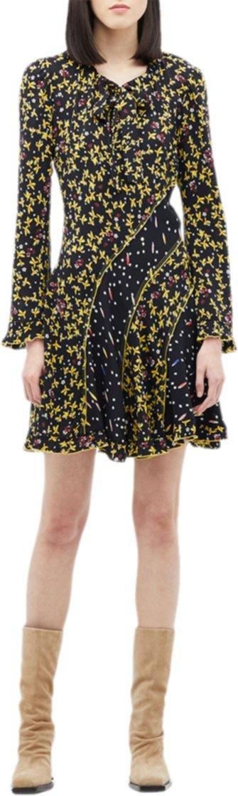 Платье Catia со смешанным принтом DEREK LAM