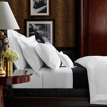 Cotton Tuxedo Duvet Cover  /Queen Ralph Lauren
