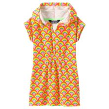 Girls 7-16 Lands' End Terry Hooded Dress Cover-Up Lands' End