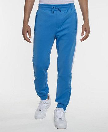 Спортивные брюки из неопрена с тесьмой с логотипом Sean John