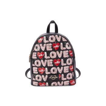 Рюкзак из искусственной кожи с логотипом LOVE Moschino