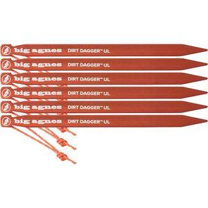 Колышки для палатки UL Big Agnes Dirt Dagger - 6 шт. В упаковке Big Agnes