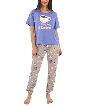 Пижамный комплект Latte Jogger Pants Munki Munki