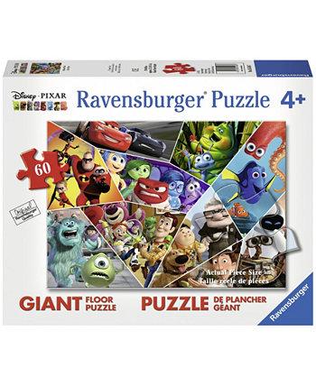 Disney Pixar - Ультимативная головоломка Pixar Giant Floor - 60 Piece Ravensburger